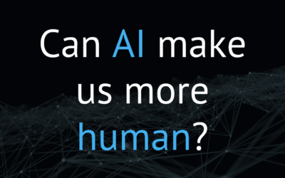 Can AI make us more human?