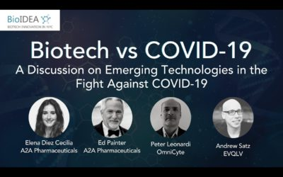 Watch our event with BioIDEA: Biotech vs COVID-19