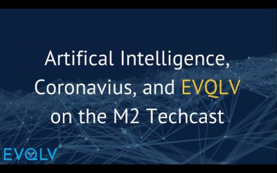 Andrew Satz discusses AI, Coronavius and EVQLV's Mission on the M2 Techcast